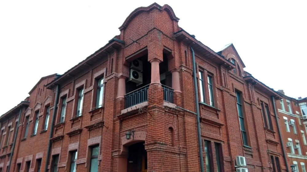 Здание 1910 года, где расположена Дирекция Московского зоопарка