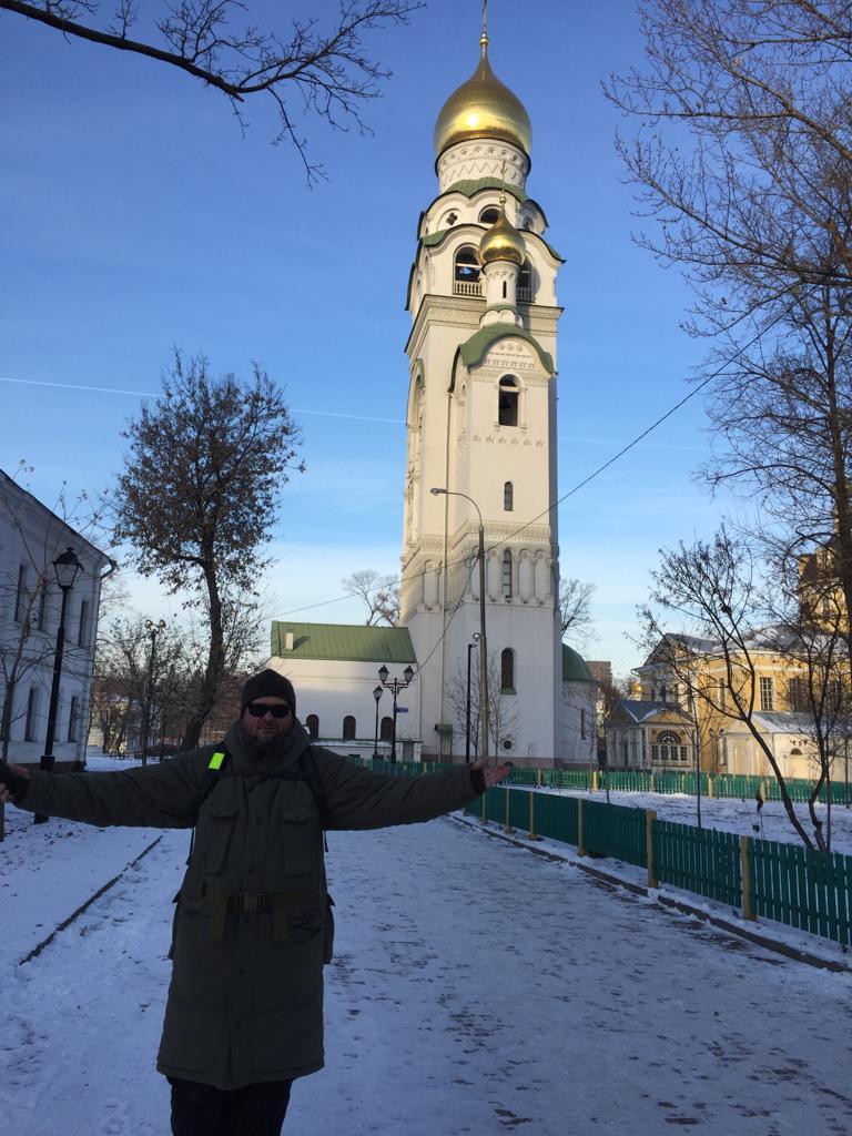 А сегодня, в первый день зимы, я снова посетил Историко-архитектурный ансамбль «Рогожская слобода».
