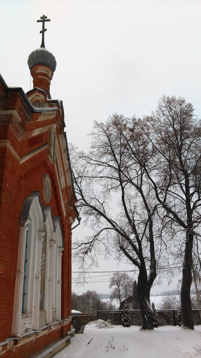 9 декабря 2018. Храм Успения Пресвятой Богородицы в деревне Липитино, Ступинский район.