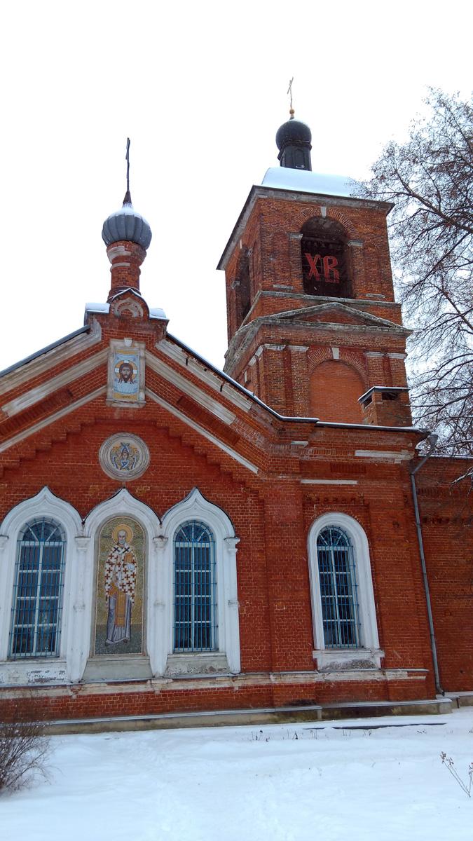 В 1930-е гг. храм был закрыт.