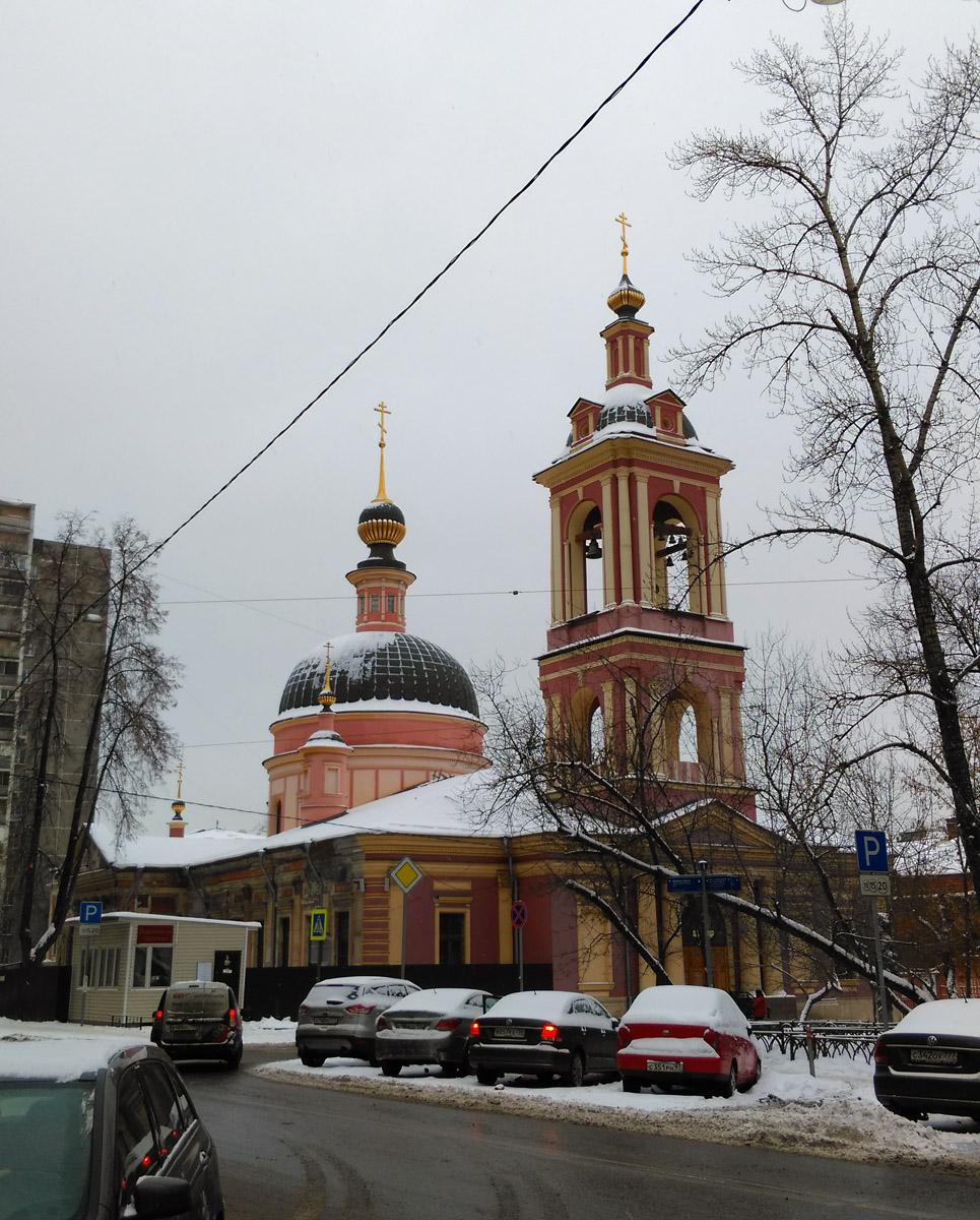 Храм святой великомученицы Ирины (Троицы Живоначальной) в Покровском