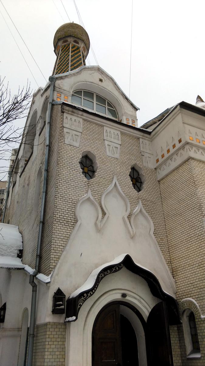 Потрясающе красивый Старообрядческий храм Покрова Пресвятой Богородицы Покрово-Успенской общины.