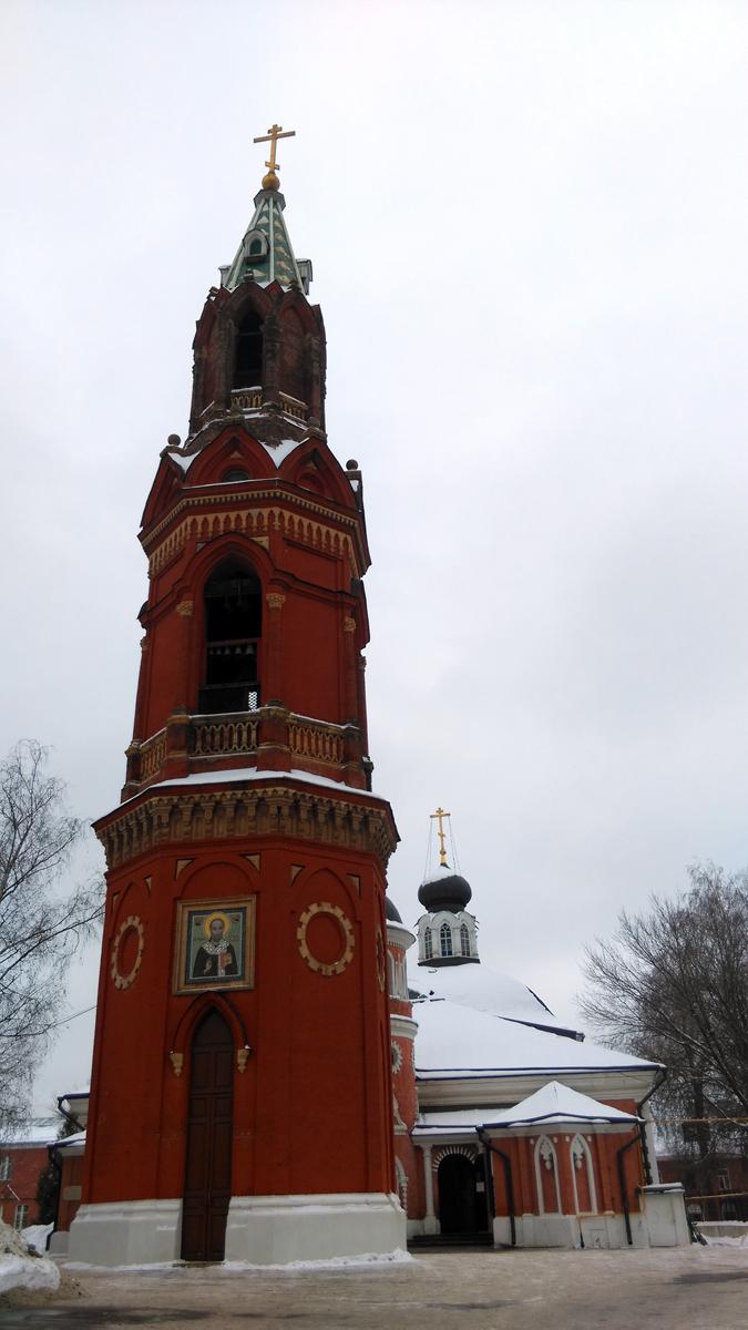 Колокольня бывшего Никольского единоверческого монастыря