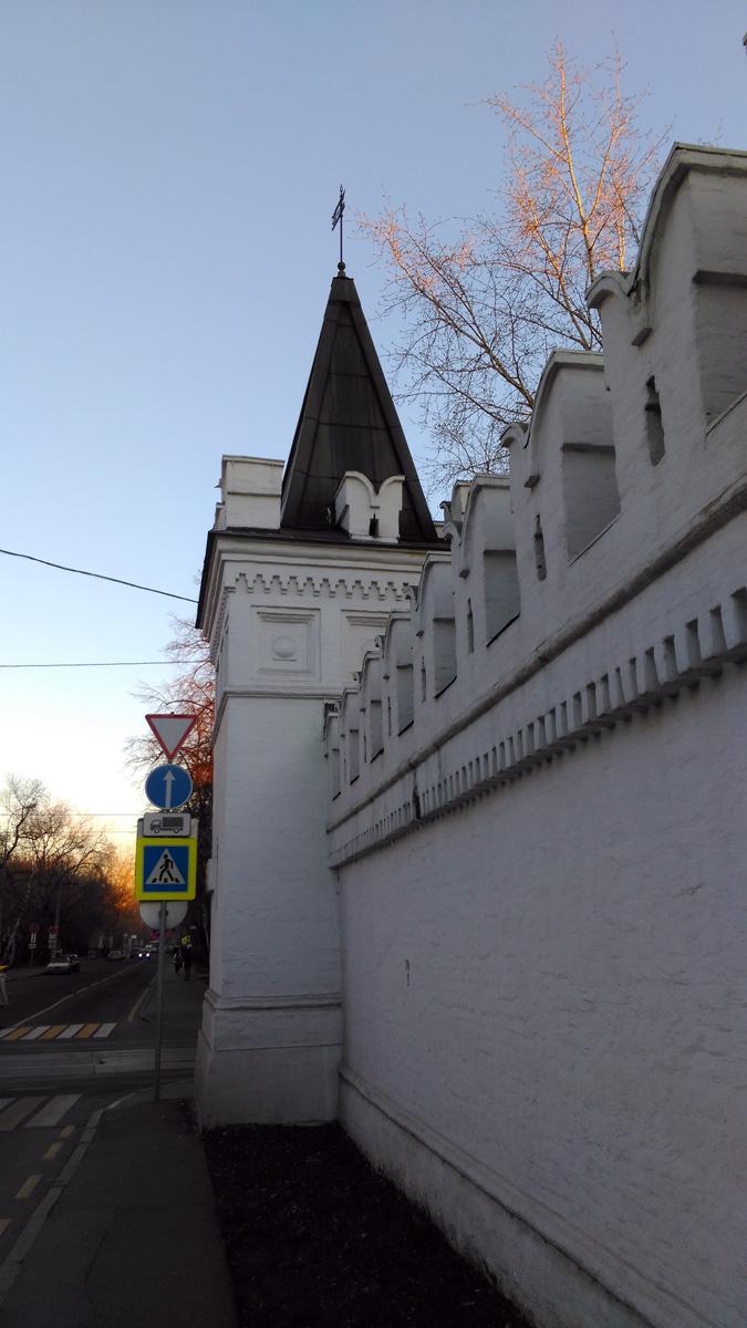 Синодальная башня Данилова монастыря (северо-западная)