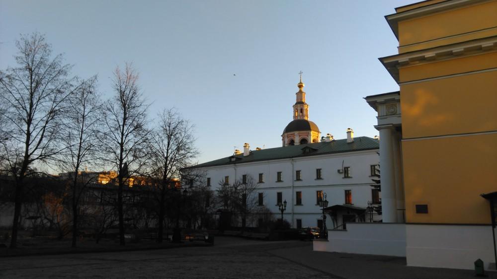 Бывший братский корпус, построенный в XVII–XVIII вв.