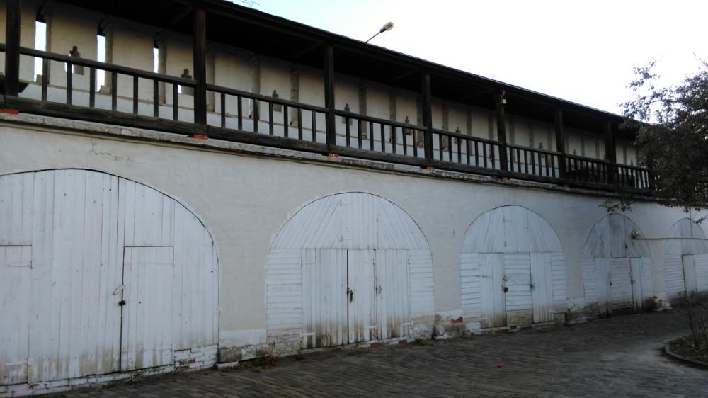 Часть северной крепостной стены.