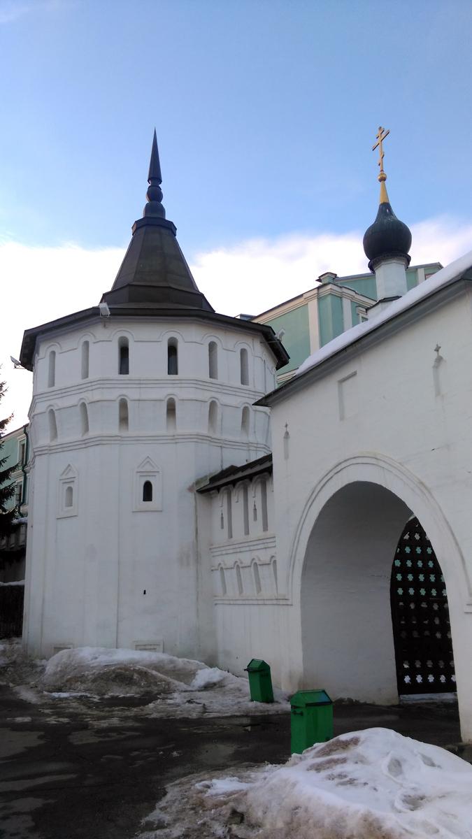 Георгиевская башня Данилова монастыря Построена в XVII в.