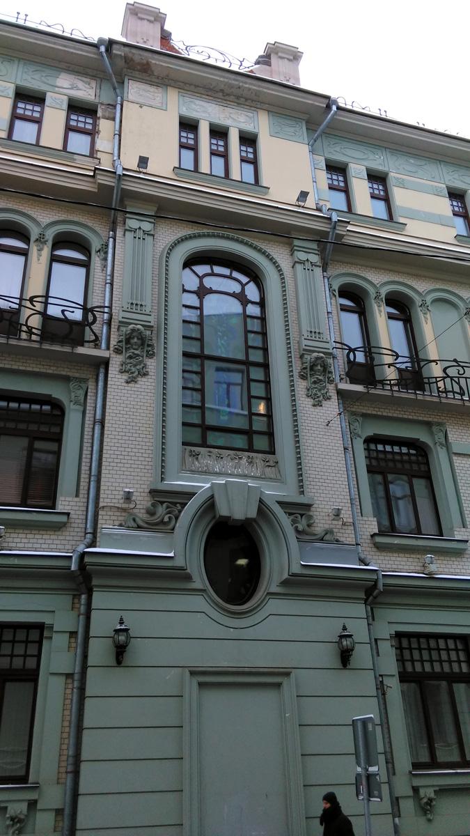 Жилой дом Ф.А. Александрова