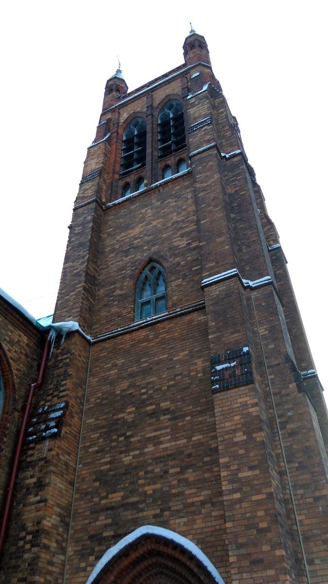 4 января 2019. Англиканская церковь святого апостола Андрея. Москва.