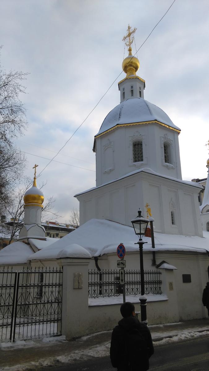 Среди посадских церквей г. Москвы XVII в. здание выделяется объёмно-пространственным решением и характером декоративного оформления. Фасады высокого двухсветного четверика,  вытянутого по оси север–юг, обработаны перспективными вертикальными филёнками, встречающими аналоги в архитектуре XVI в.