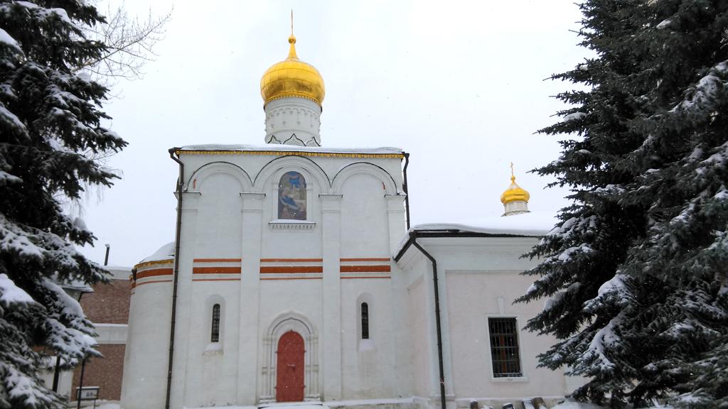 .Храм Рождества Пресвятой Богородицы в Старом Симонове. Построен в 1510 г
