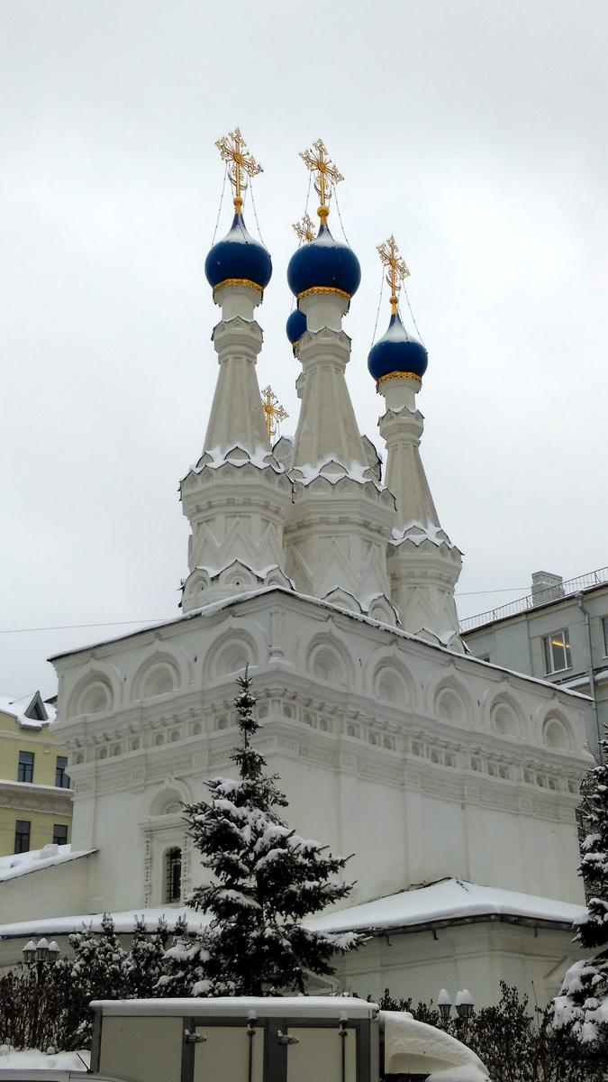4 января 2019. Храм Рождества Пресвятой Богородицы в Путинках