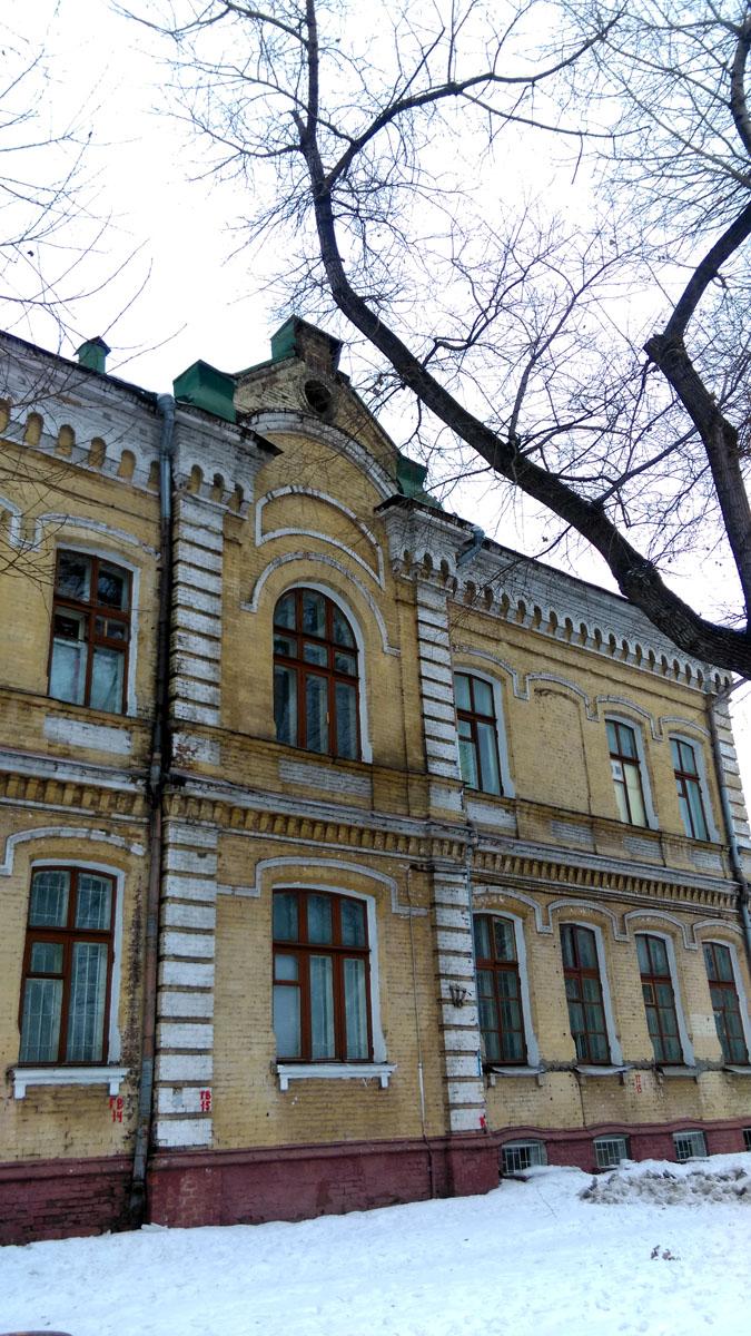 19 января 2019. Богадельня Бугровых. Построена во 2-й половине XIX века. В настоящее время здесь находится старообрядческое Духовное училище.