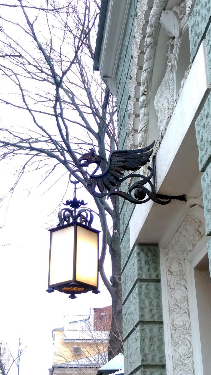 Стильный фонарь. Настоящее немецкое качество (с)