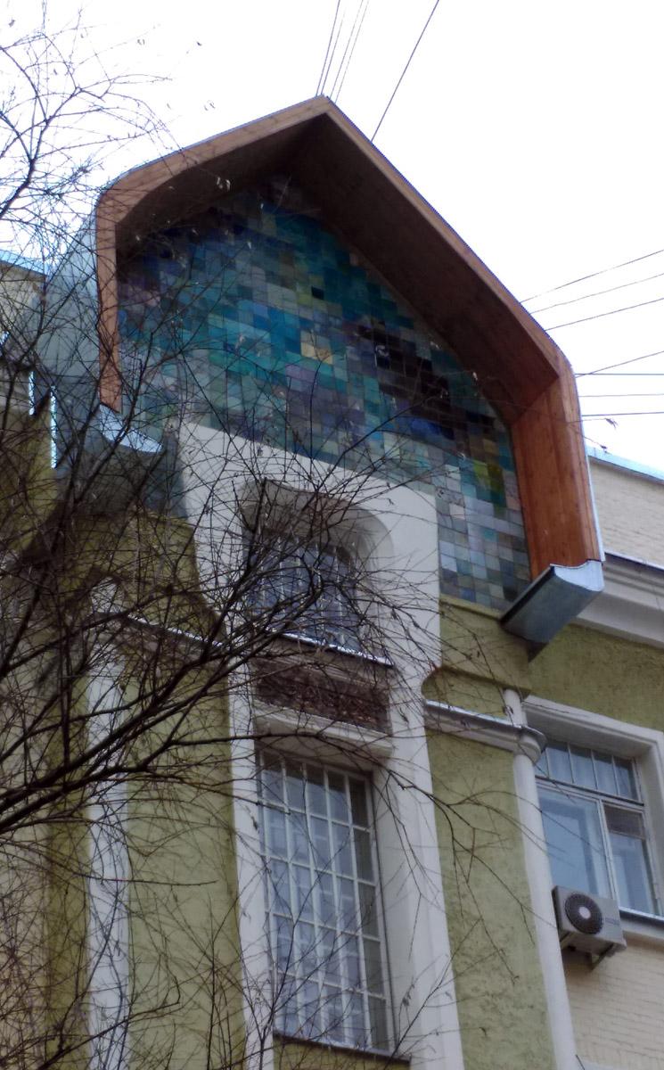 Например, Доходный дом адвоката Ф. Н. Плевако, архитектор П.К. Микини. построен в 1905г.
