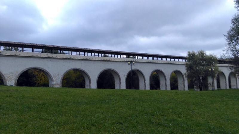 Собственно, акведук или по другому, Миллионный мост. Самый старый мост Москвы.