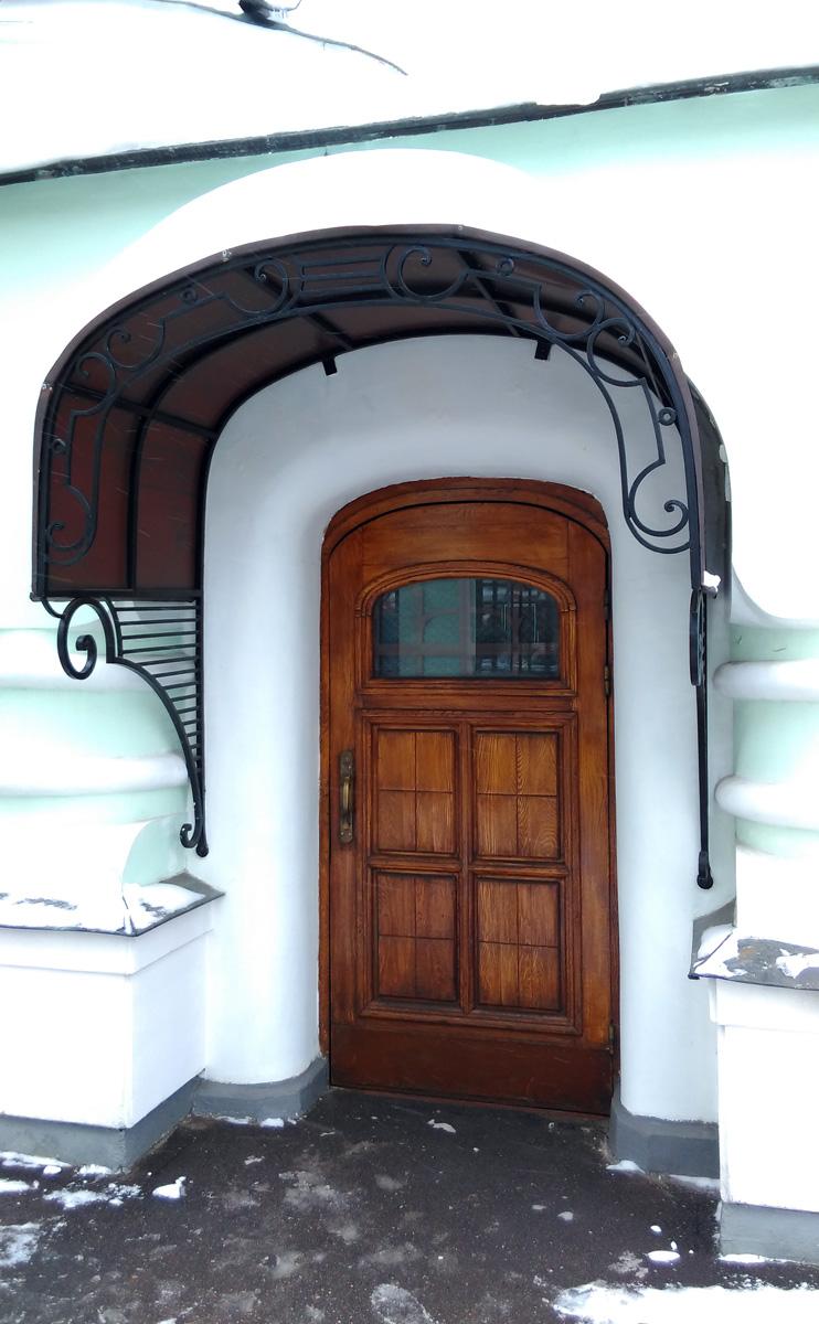 Дверь без решетки...