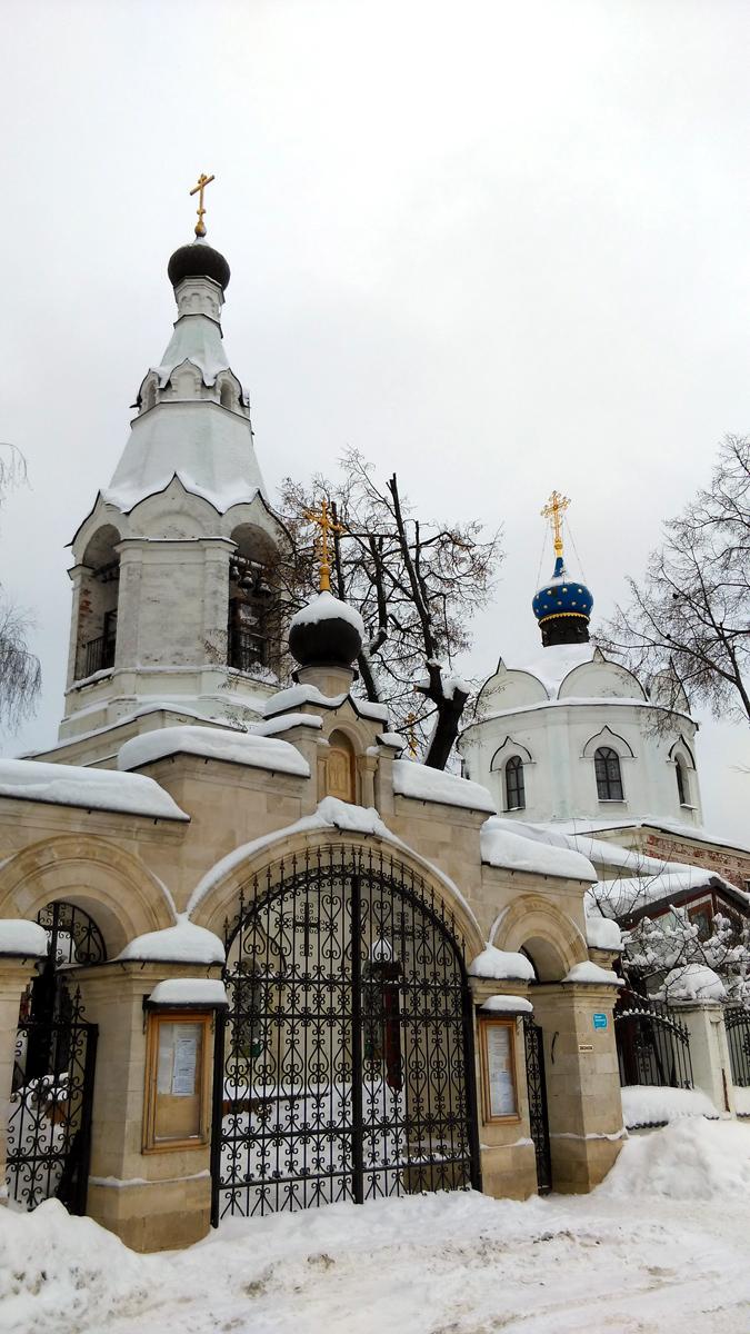 Церковь была заложена в  в 1847 году, а освящена в 1866-ом.