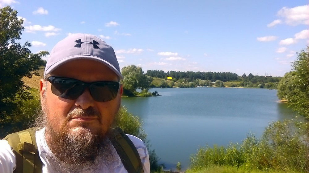 Напомню, в тот жаркий солнечный день я сначала прогулялся вокруг Белопесоцкого затона.