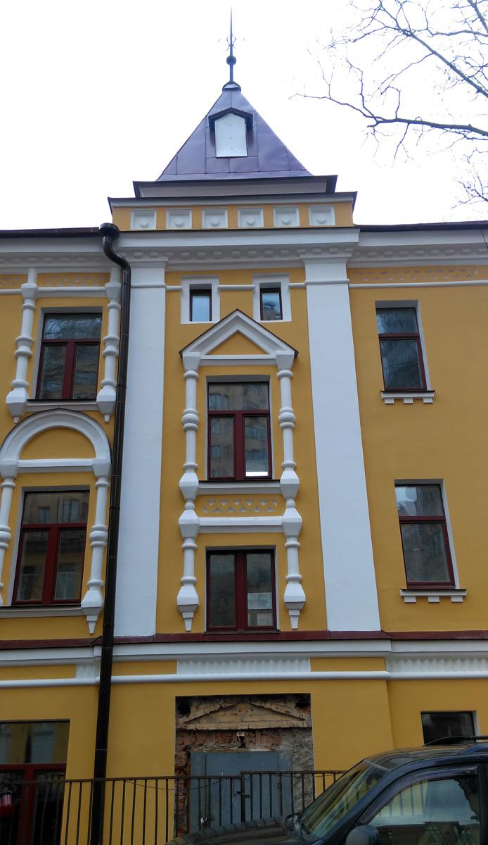 Построен в 1901 году, архитектор И.П.Машков.