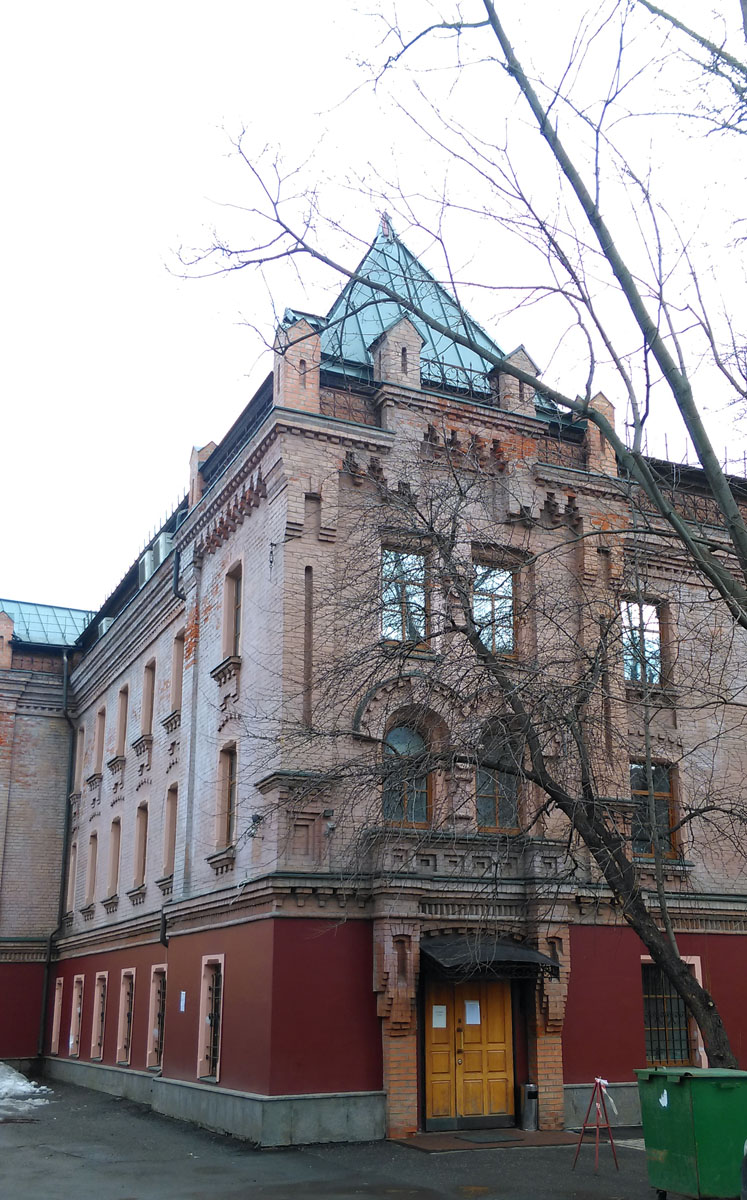 Исторический «Поляковский дом дешевых квартир». Построен в 1896 году, архитектор И. П. Машков.