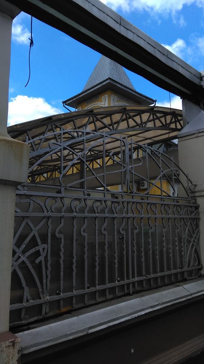 Сегодня покажу красивый особняк расположенный на территории макаронной фабрики.