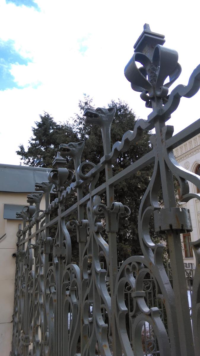 А это уже, ограда Особняк З. Г. Морозовой на Спиридоновке. И это тоже Дом приемов. На этот раз, Министерства иностранных дел России. И да, Автор этой красоты Ф. Шехтель.