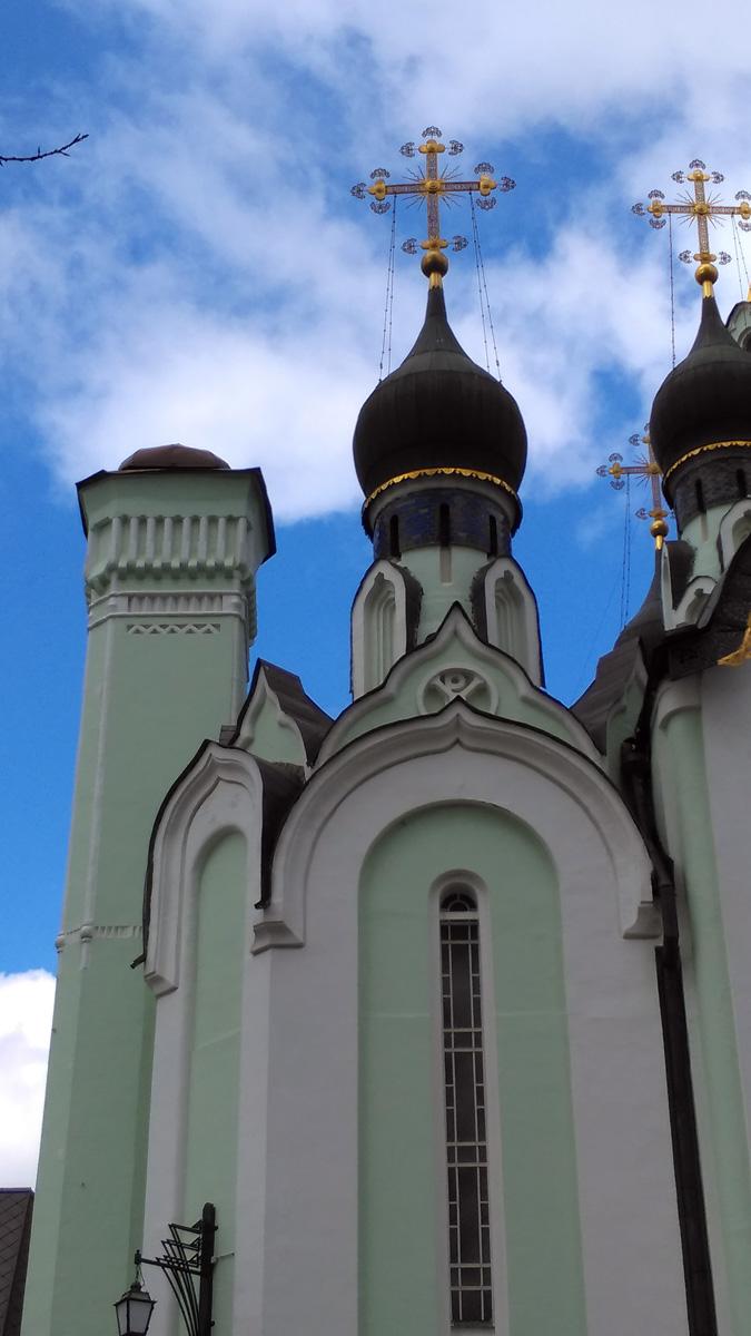 Храм Воскресения Христова в Сокольниках. Архитектор Павел Александрович Толстых.