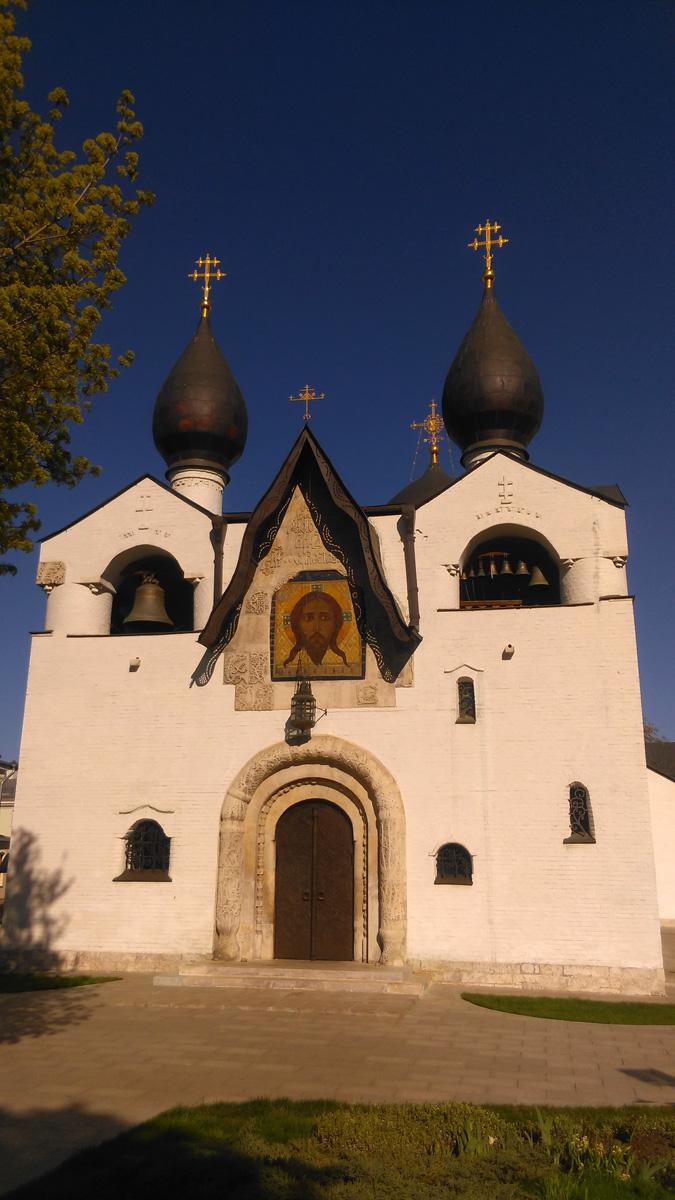 Снова Главный храм Марфо-Мариинской обители. Нравится мне это место...