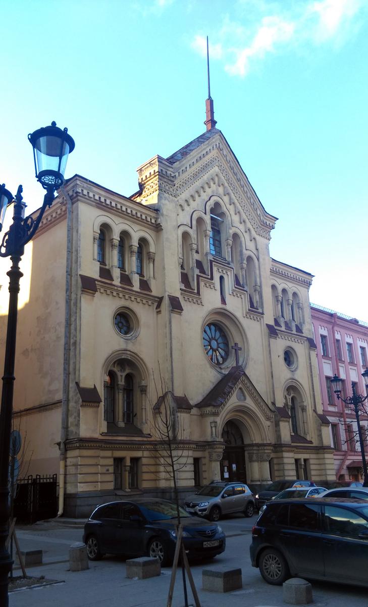 Шведская лютеранско-евангелическая церковь cв. Екатерины