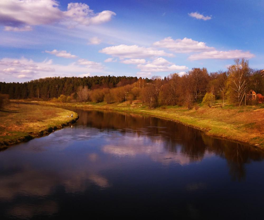 2-4 мая Тверская область, река Тверца.
