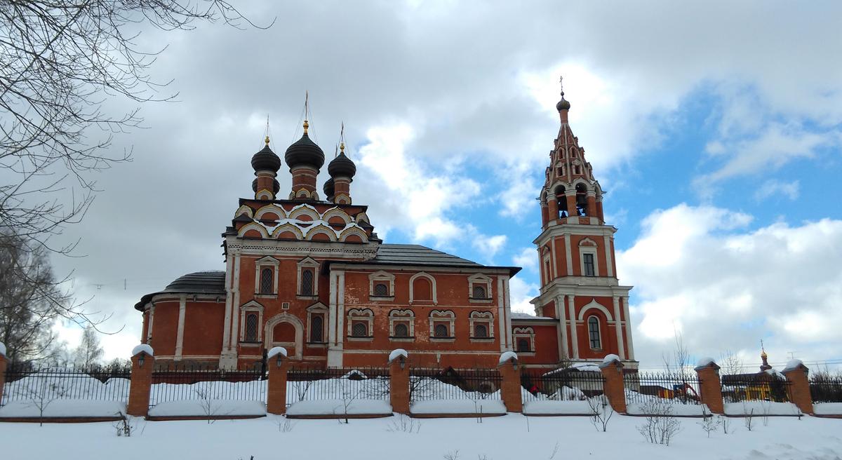 Храм во имя Казанской иконы Божией Матери в Котельниках