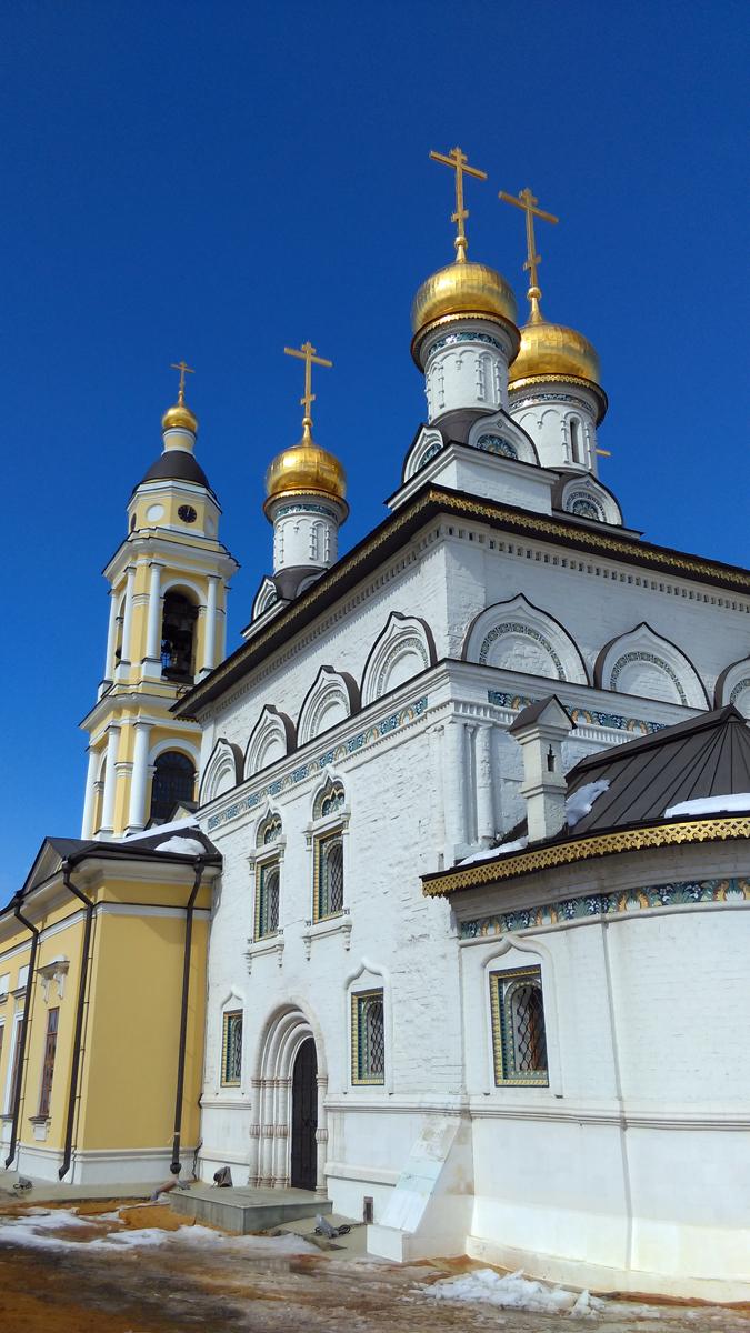 Храмовый комплекс Михаило-Архангельской церкви