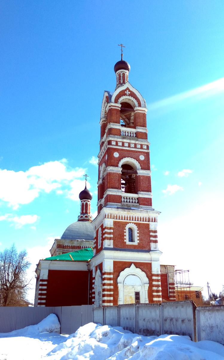 Церковь Успения Пресвятой Богородицы в Бронницах