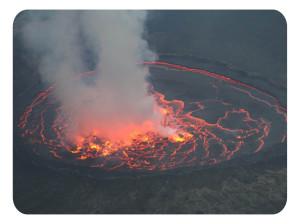 Вулкан Ньирагонго (ДР Конго)