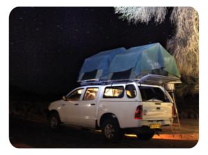 По Африке с палаткой с спальным мешком