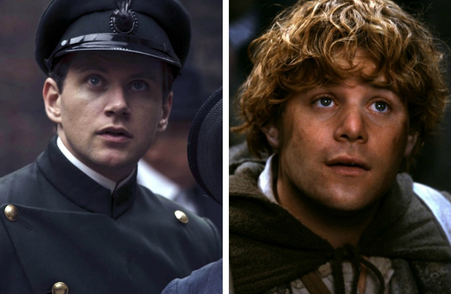 Allen Leech as Tom Branson vs Sean Astin as Samwise «Sam» Gamgee