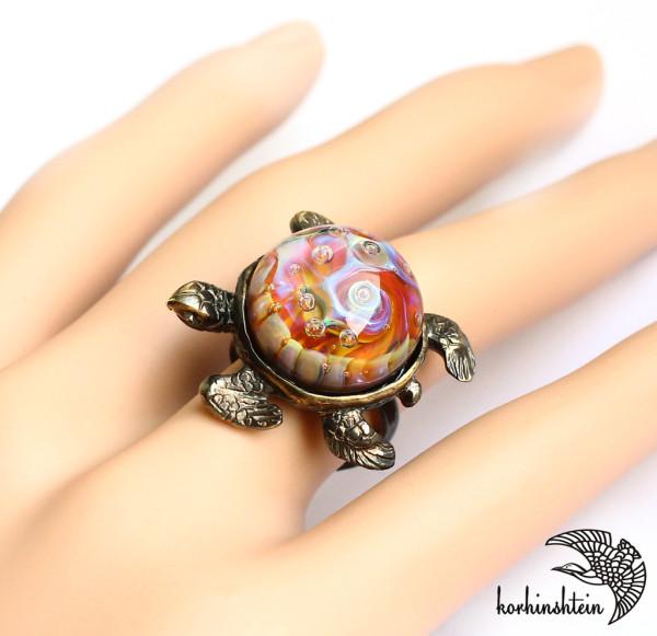 Черепаха кольцо 2-9