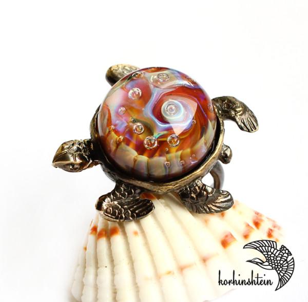 Черепаха кольцо 2-11