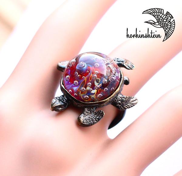 Черепаха кольцо 6-7