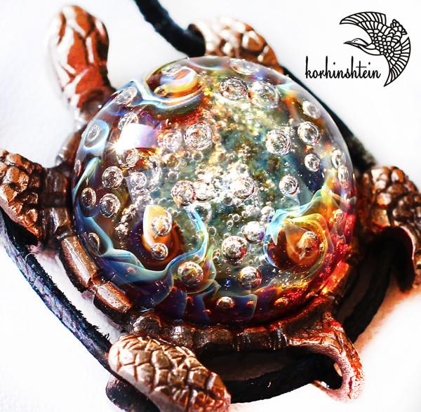 Черепаха кулон 16-2