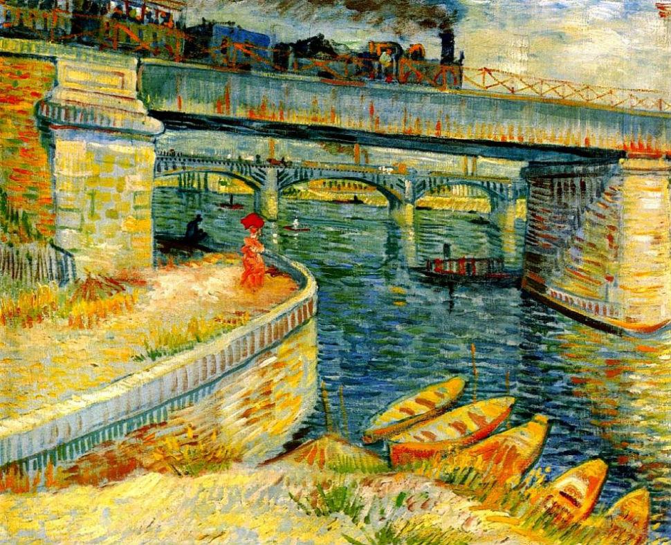 Винсент Ван Гог - Мост через Сену в Аньер- 1887.jpg