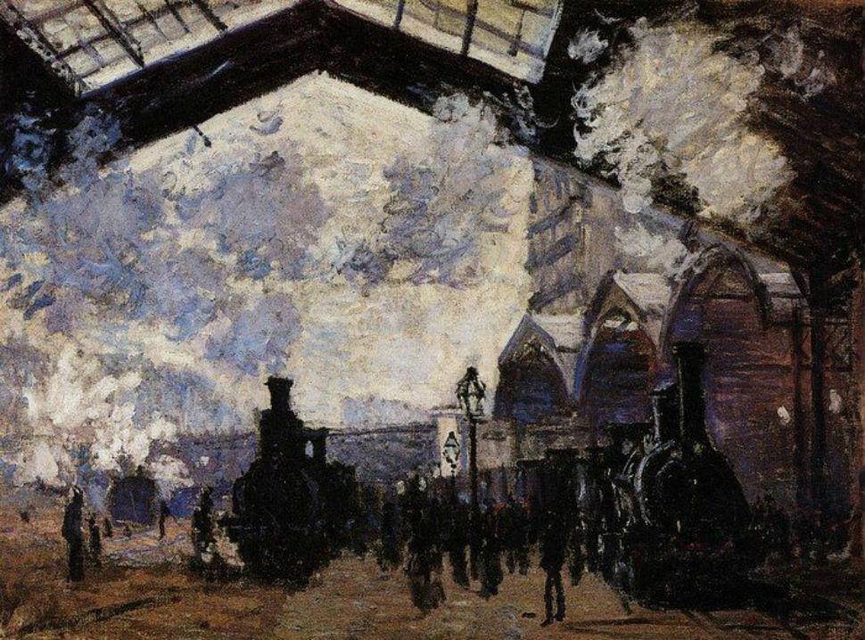 Клод Моне - Вокзал Сен-Лазар - 1877.jpg