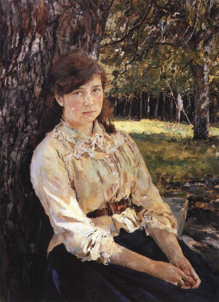 1-3-Валентин Серов - Девушка освещённая солнцем - 1888.jpg