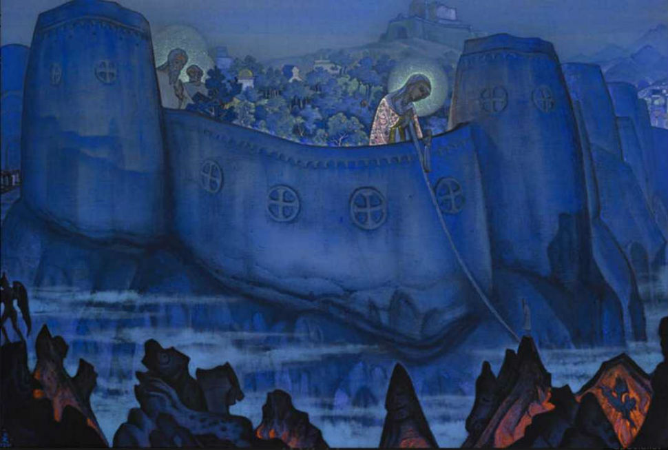 2-2-НИКОЛАЙ РЕРИХ - Мадонна Лаборис (Труды Богоматери) - 1931.jpg