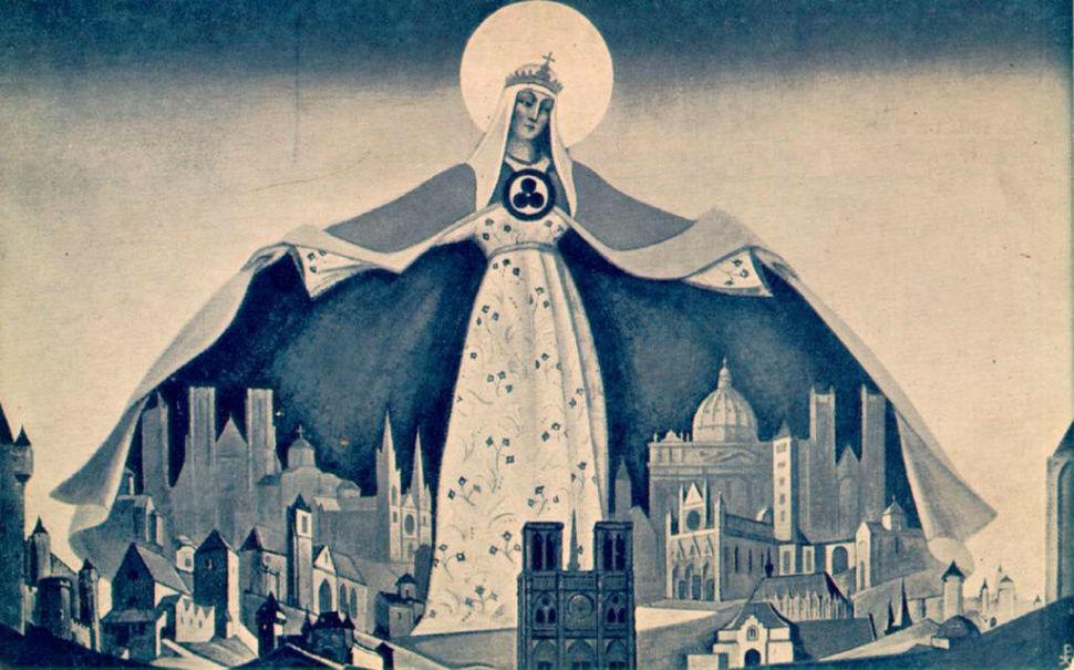 2-5-Николай Рерих - Мадонна Защитница - 1933.jpg