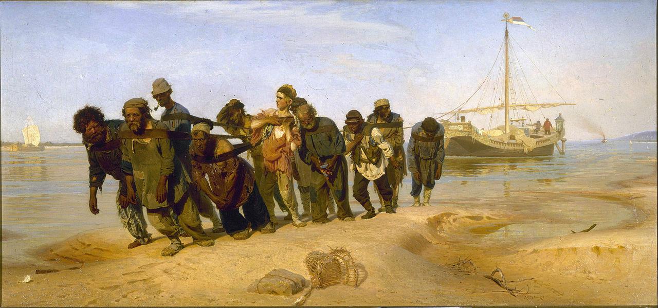 3-2-Илья Репин - Бурлаки на Волге - 1872-1873.jpg