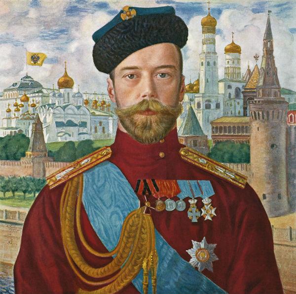 Борис Кустодиев - Его Императорское Величество Государь Император Николай II - 1915.jpg