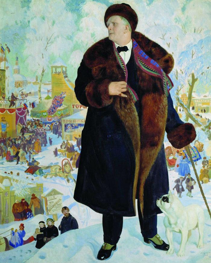 Борис Кустодиев - Портрет Шаляпина - 1922.jpg