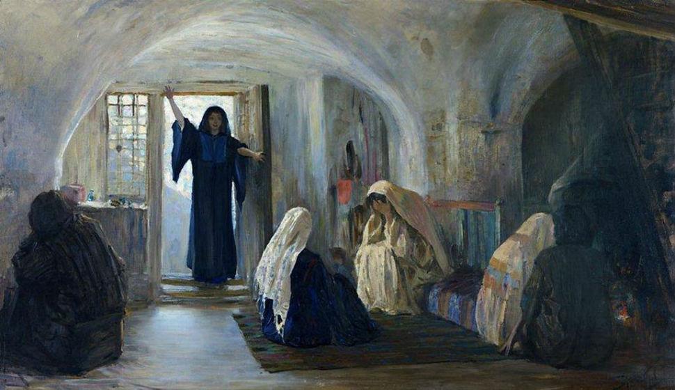 Василий Поленов - Возвестила радость плачущим - 1899-1909.jpg